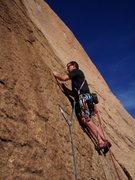 Rock Climbing Photo: ladies man 2002 BBN, EBN, SM, PN 1st P .10- bolts,...