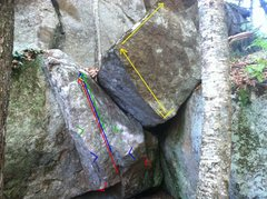 Rock Climbing Photo: There's many ways to start this problem. The origi...