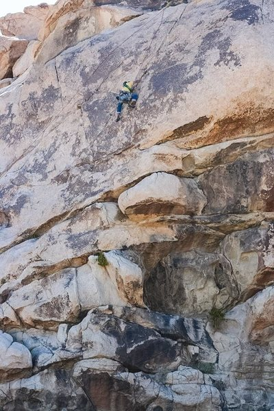 Fun climb with limited pro down low.