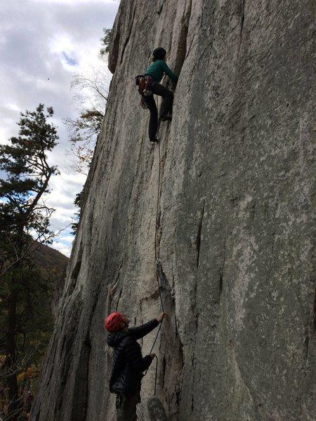 Rock Climbing Photo: Pollux