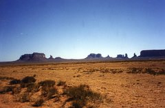 Rock Climbing Photo: Photo taken driving past Monument Valley.