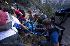 Rock Climbing Photo: Carrying in