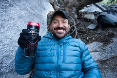 Rock Climbing Photo: Yosemite, where the beer flows like Cobra. Celebra...