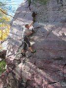 Rock Climbing Photo: Nabbed it!