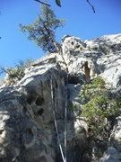 Rock Climbing Photo: The Claw Left after having lead it