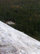 Rock Climbing Photo: P5 slab