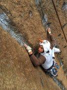 Rock Climbing Photo: Olaf keeping his cool on Halloween 2015