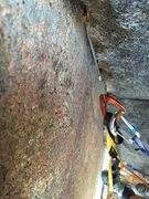 Rock Climbing Photo: Those small nuts really come in handy for both pit...