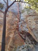 Rock Climbing Photo: 19, 好诗/Nice Poem, 5.10b 顶&#38...