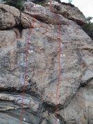 Rock Climbing Photo: 6, 马蝇/Horse Fly, 5.9 顶&#38142...