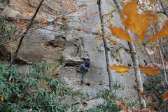 Rock Climbing Photo: Dugger on Fairweather Friend