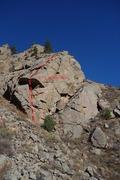 Rock Climbing Photo: The Solar Panel.
