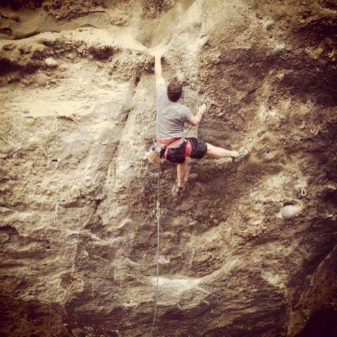 Rock Climbing Photo: Owl tor