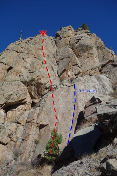 Rock Climbing Photo: Sunspot.
