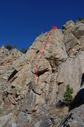 Rock Climbing Photo: Rising Sun.
