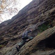 Rock Climbing Photo: Start of Psychopomp