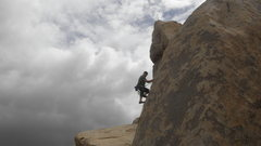 Rock Climbing Photo: John Shippling on Sexy Bolt