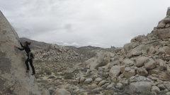 Rock Climbing Photo: Rebeca Russell on S.B.
