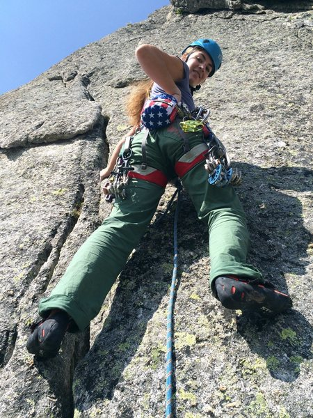 Cécile at the beginning of pitch 5
