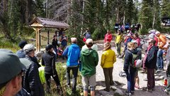 Rock Climbing Photo: Crag Day 2015 Climbers giving back
