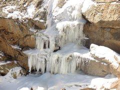 Rock Climbing Photo: Columbine Falls.
