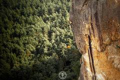 Rock Climbing Photo: Timmy Deroehn on Edge of the World. Photo by Fredd...