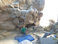 Daniel Madain on the opening moves of The Cave