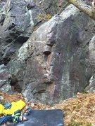 Rock Climbing Photo: Climb the arete.