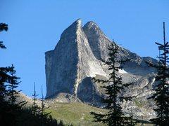 Rock Climbing Photo: Gimli from the beginning of the approach