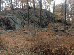 Rock Climbing Photo: Not as chossy as it looks