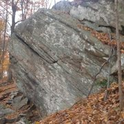 Rock Climbing Photo: Small , big holds at the top No pad needed