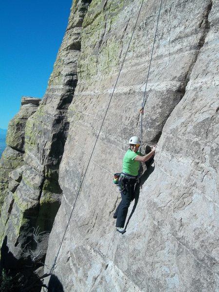 Rock Climbing Photo: Having fun on Mexican Radio!