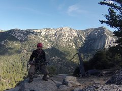 Rock Climbing Photo: Suicide with tahquitz during bee season