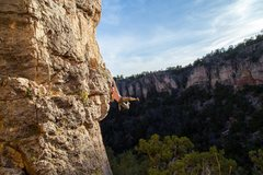 Rock Climbing Photo: Out at shelf road. Oct. 2015