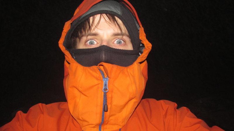 Rock Climbing Photo: Very cold on dartmoor.