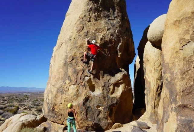 Rock Climbing Photo: rise and devour
