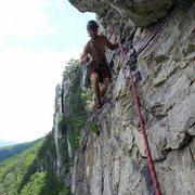 Rock Climbing Photo: Pleasant Overhangs. Seneca Rocks, West Virginia