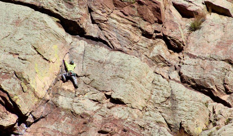 Rock Climbing Photo: Calypso 2.