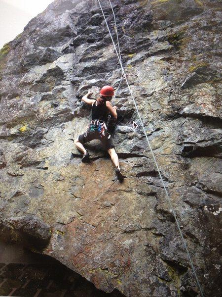 Rock Climbing Photo: Tania on A Stab in the Dark