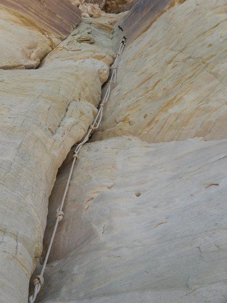 Rock Climbing Photo: Very strange!
