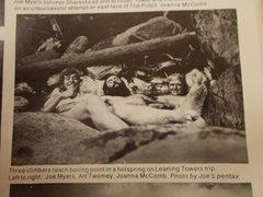 Rock Climbing Photo: Hall Peak East Buttress FA Team @ Dewar Creek Hot ...