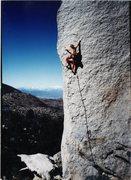 Rock Climbing Photo: My British friend, Nick Hancock, enjoying a nice d...