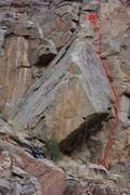 Rock Climbing Photo: Obtuse Dilemma.