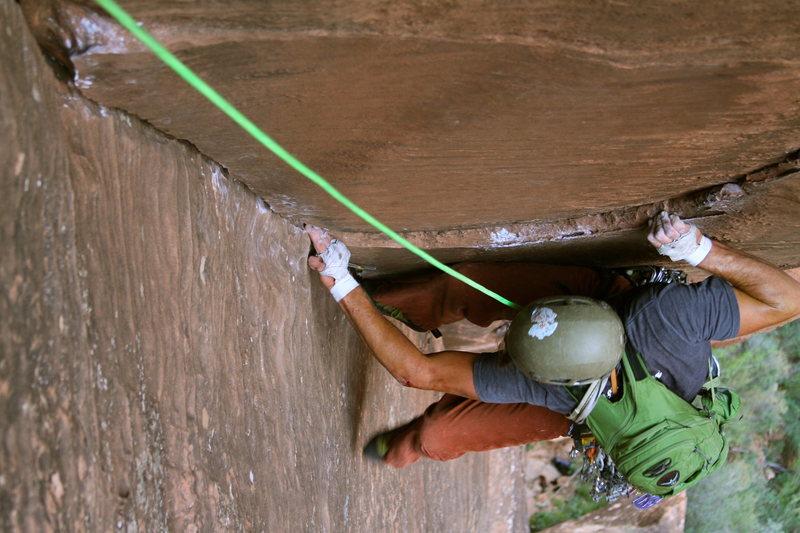 Rock Climbing Photo: Shunes Buttress, Zion