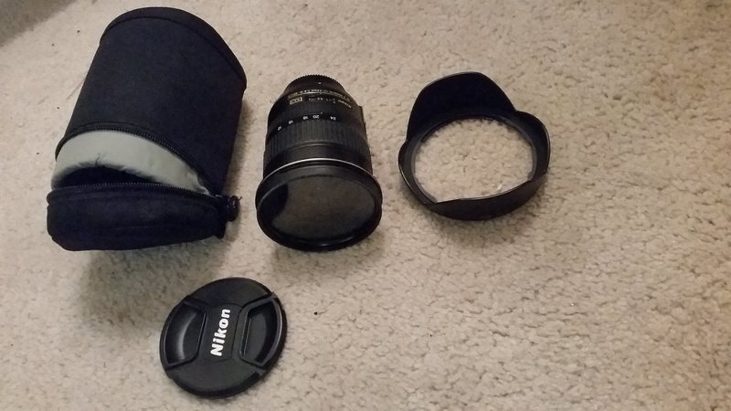 Nikon 12-24 f4 DX With case, filter and hood