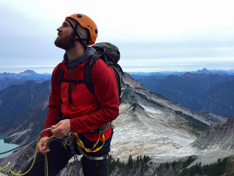 Rock Climbing Photo: Me belaying on Vesper Peak - Photo Cred Thatcher K...