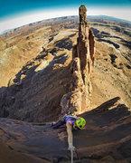 Rock Climbing Photo: final pitch