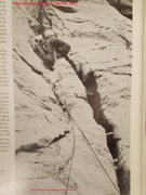 Rock Climbing Photo: first ascent of pitch one of Hall Peak's East Butt...