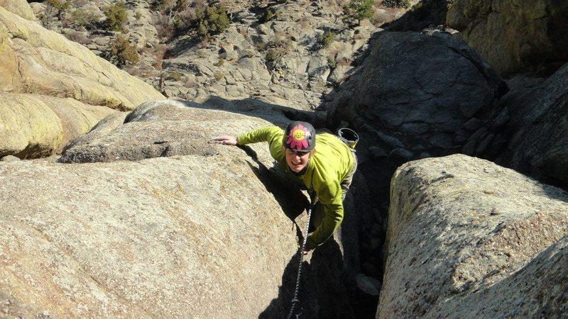 Rock Climbing Photo: OLD HELMET