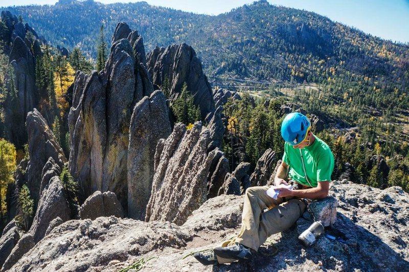 Rock Climbing Photo: Singing rock